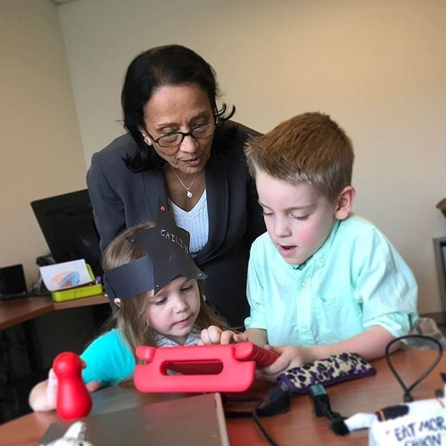 """A few of the children during """"take your child to work day"""". #berjeinhouse"""