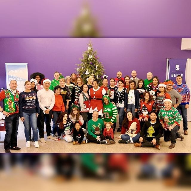 Ugly Sweater Day #berjeinhouse