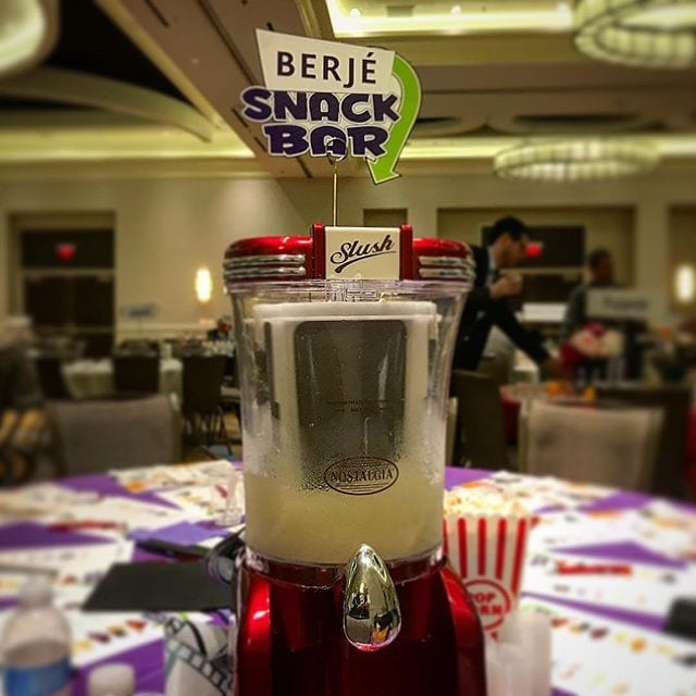 Slushes at the Berjé Snack Bar #berjeinhouse #berje #csa