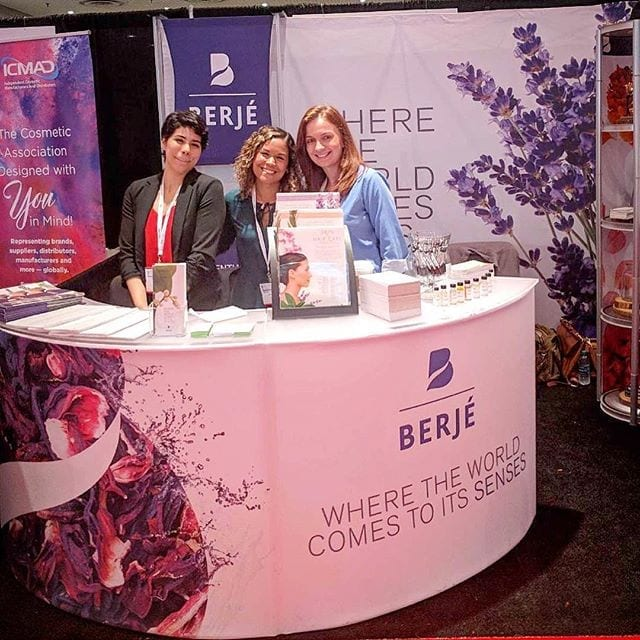 Come see Berjé at NYSCC booth #331 #berjeinhouse #nyscc
