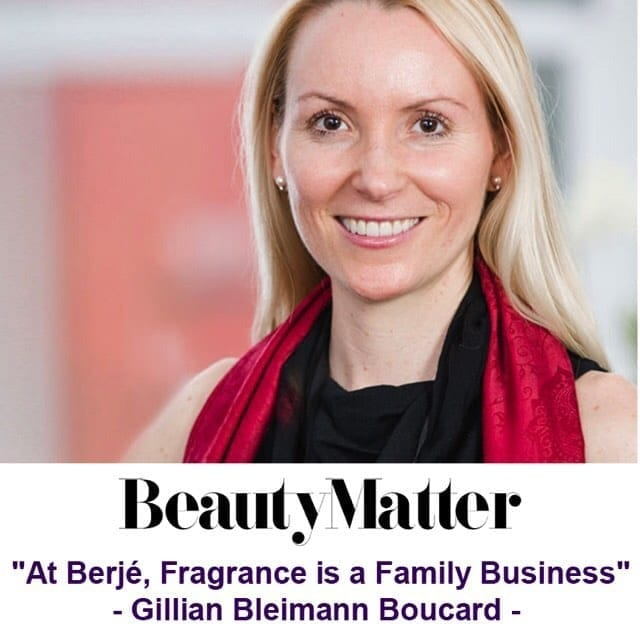 We're excited to announce our own Gillian Bleimann Boucard was interviewed for beautymatter.com!This article can be found online at https://bit.ly/2Jo29o2 #berjeinhouse