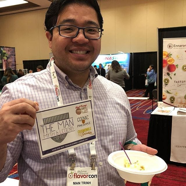 """Enjoying """"The Man Myth and Legend"""" Combo. Vote for your favorite combination www.twitter.com/berje_inc #flavorcon #teamberje"""