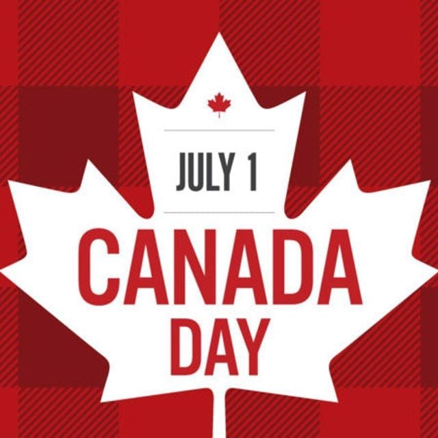 Have a Safe and Happy Canada Day, to all our Canadian Friends & Family!