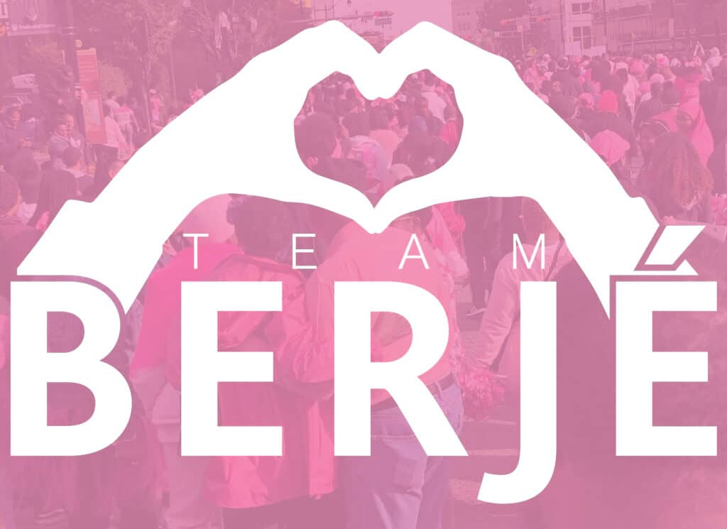 team berjé is proud to be the #3 team at @makingstridesnewarknj