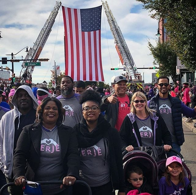 Team Berjé - proud to be the team at @makingstridesnewarknj