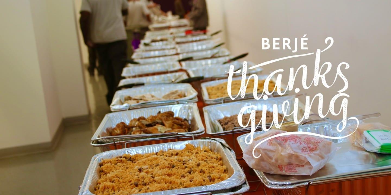 berjé thanksgiving! #teamberje