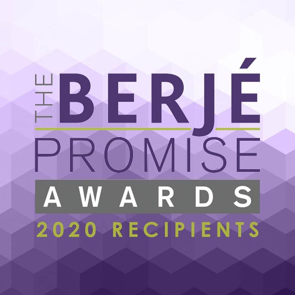 Congratulations to the 2020 Berjé Promise Award Recipients #teamberje