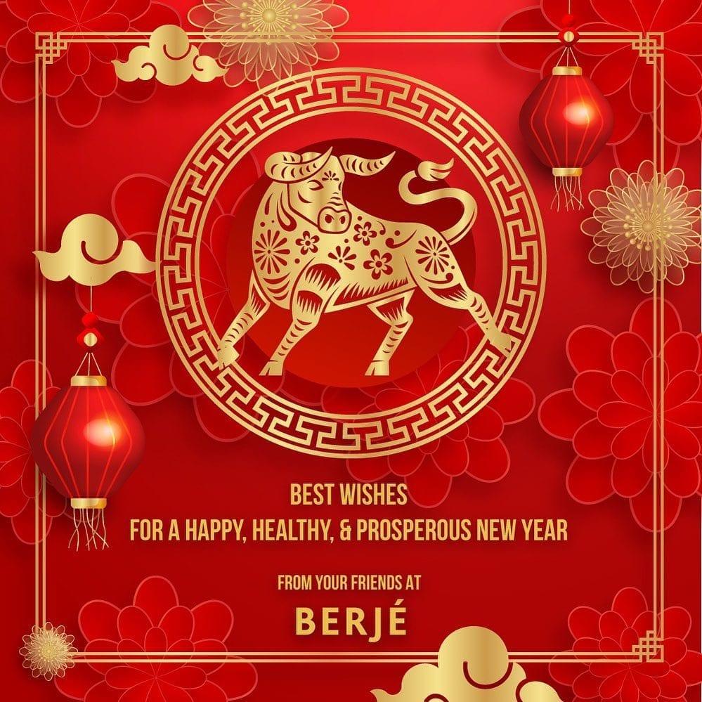 Wishing everyone a Happy, Healthy, & Prosperous Lunar New Year! #lunarnewyear #yearoftheox