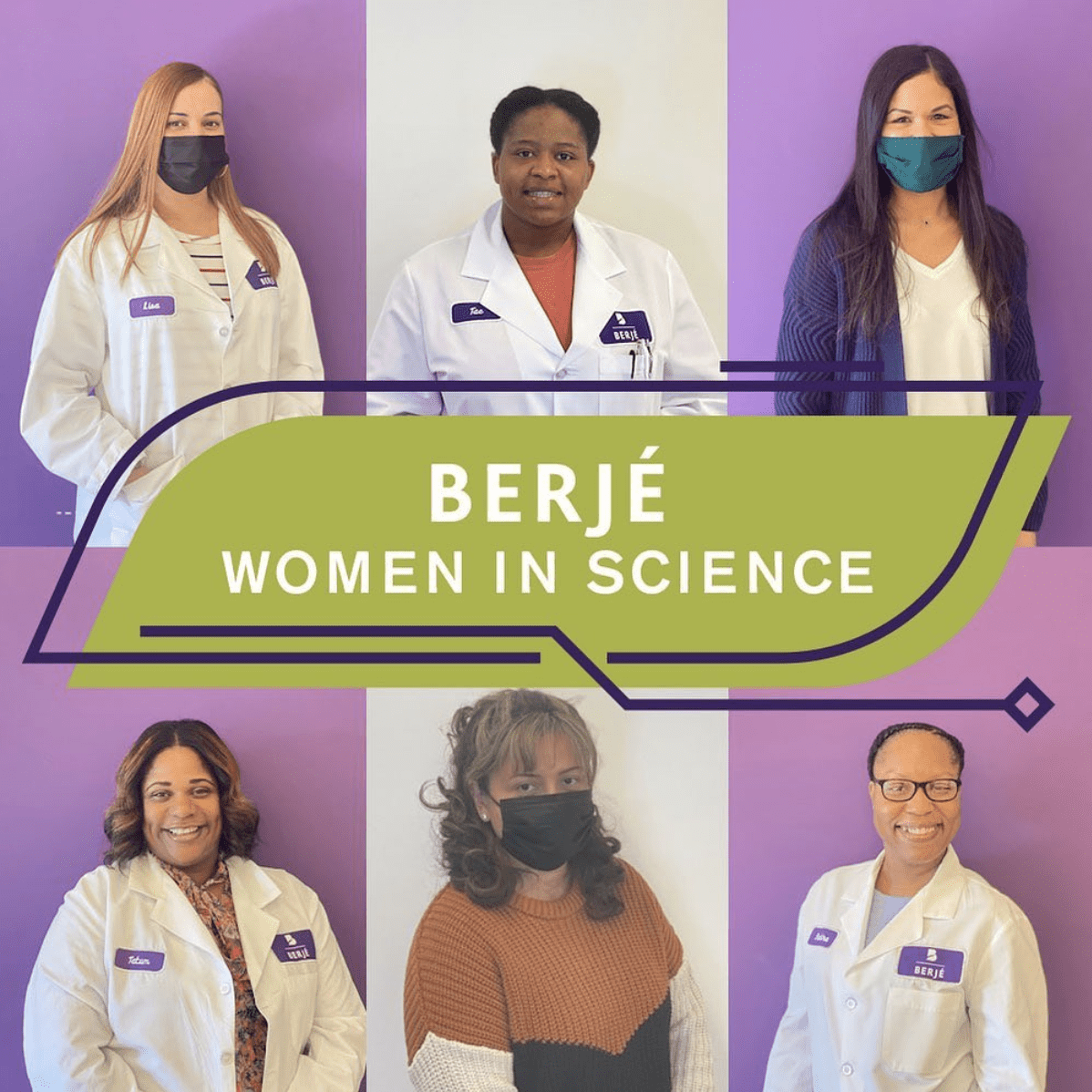 As March comes to a close, in celebration of #womenshistorymonth , we want to bring attention to the wonderful women in our lab. Women now make up around 48% of all workers in the STEM field as opposed to the 38% they made up in 1970. We continue celebrating the amazing scientists on our team and the women leaders in our industry who inspire the next generation.  #womeninscience #womeninspiringwomen